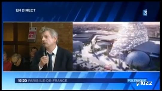 France 3 - Tour Triangle - Réunion publique