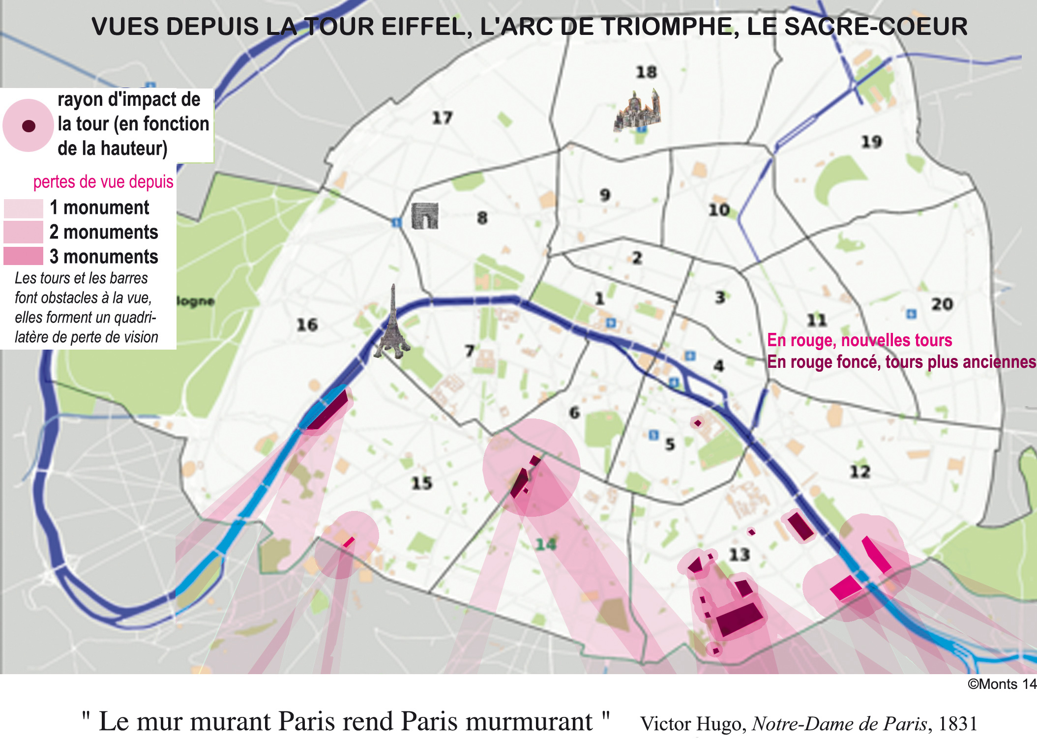 urbanisme paris impact tours