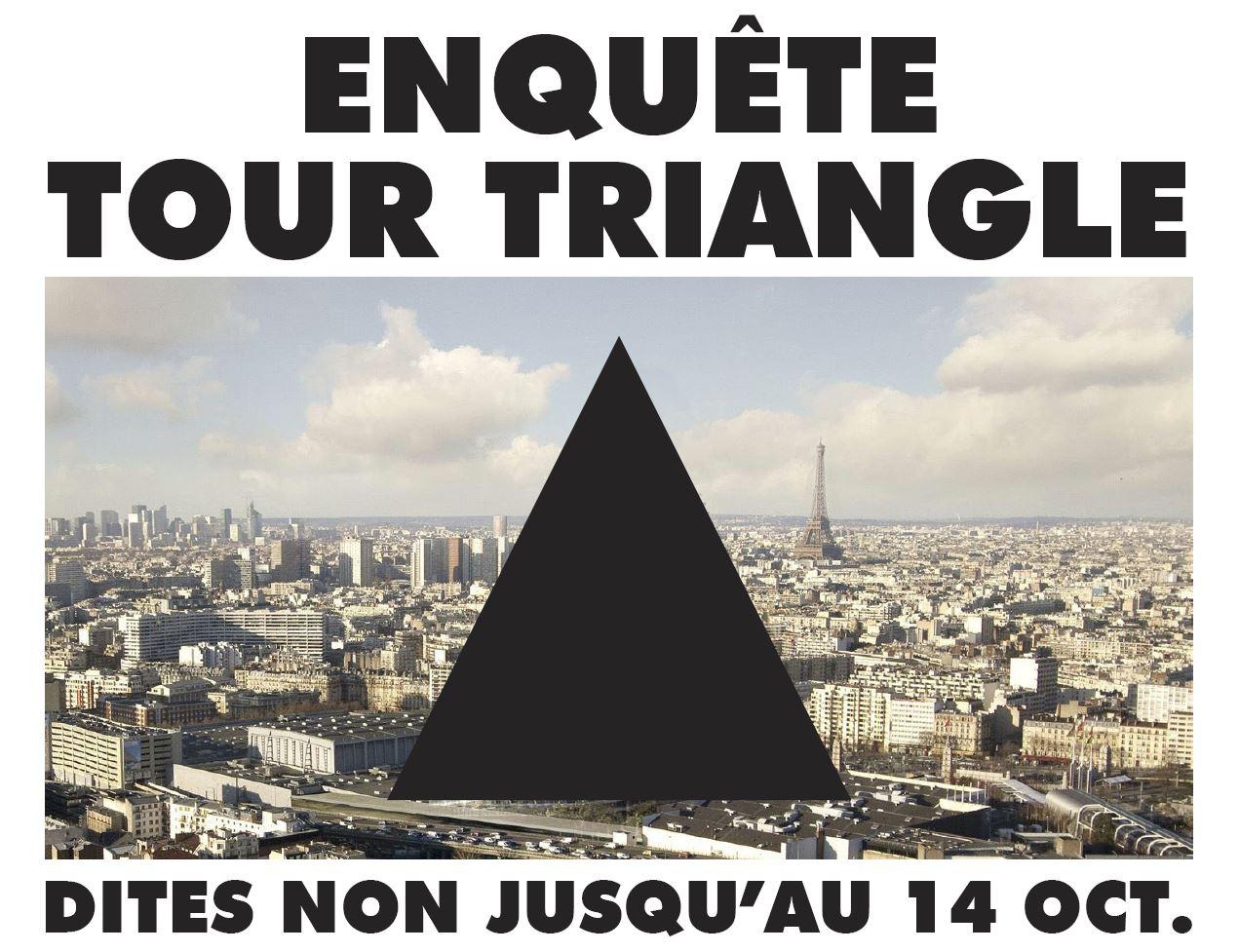 enquete tour triangle - paris - porte de versailles - unibail rodamco - GPII PAris